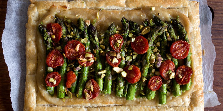 Dairy-free Asparagus Tart